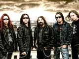 Firewind Band Graphics Sky City R