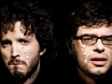 Flight Of The Conchords Faces Graphics Glasses Bristle
