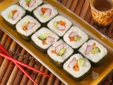 Food Sushi Chopsticks