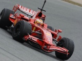 Formula One Barcelona Tests Ferrari Racing