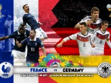 France Vs Germany Quarter Finals
