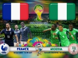 France Vs Nigeria World Cup 2014