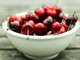 Fruits Food Cherries Bowls Berries Photograph