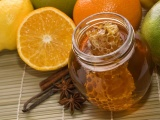 Fruits Food Jar Honey Limes Oranges Orange Slices Lemons