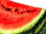 Fruits Food Watermelons White Background