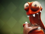 Funny And Hungry 3D Creature