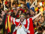 Germans Celebrate Win World Cup 2014