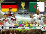 Germany Vs Algeria World Cup 2014