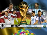 Germany Vs Argentina 2014 WC Final