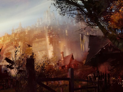 Guild Wars 2 Game Cities Castles
