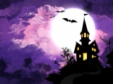 Halloween And Moonlight