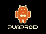 Halloween Android Logo