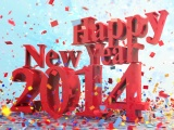 Happy New Year 2014 Celebration