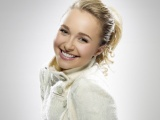 Hayden Panettiere Blonde Coat Smile Cute Hair