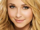 Hayden Panettiere Blonde Face Makeup Eyes Close Up