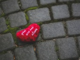 Heart On The Sidewalk