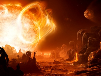 Hellish World On Another Planet (click to view)
