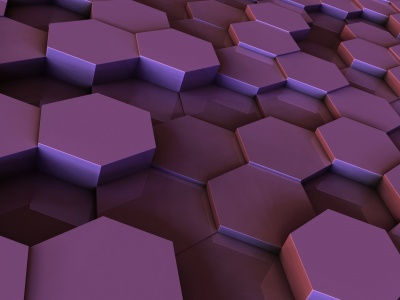 Hexagons Purple (click to view)