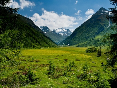 Hohe Tauern National Park Tyrol Austria Fantastic World Mountains Resort Nature Landscapes