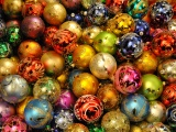 Holidays Christmas New Year Balls