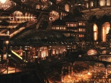 Imperial Abstract Artwork City Fantasy Scene