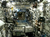 Inside Space Shuttle