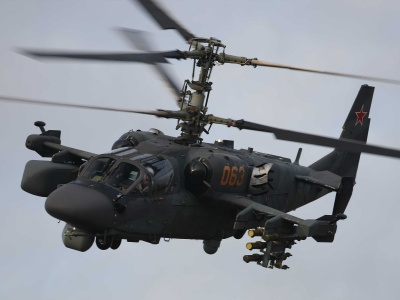 Ka-52 Alligator - Russian Helicopter (click to view)