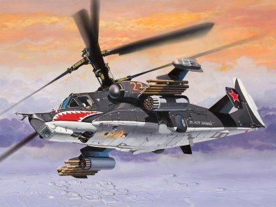 Kamov Ka-50 Black Shark (click to view)