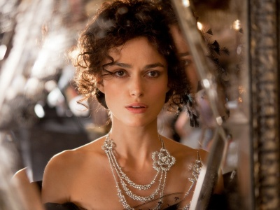 Keira Knightley Jewelry Hair Celebrity Actress (click to view)