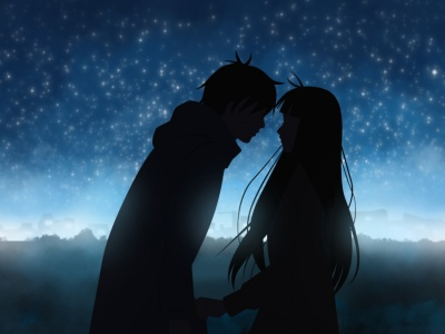Kiss Night Sky Kimi Ni Todoke To Reach Out To You Sawako Kazehaya (click to view)