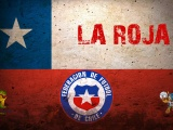 La Roja Chile Football Crest Logo