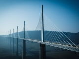 Landscape Architecture Photography Bridges Modern Skyscapes