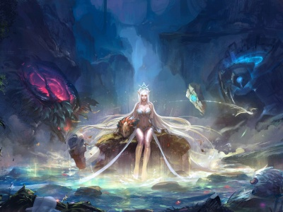 League Of Legends Janna Fantasy Girl (click to view)
