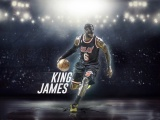 LeBron James With Mask