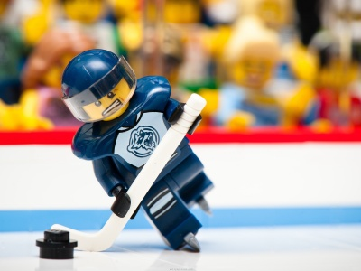 Lego Photography Sports Funny Hockey Macro