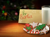 Letter And Cookies For Santa
