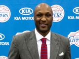 Los Angeles Clippers Nba American Professional Basketball Lamar Odom