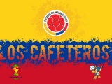 Los Cafeteros Colombia Football Crest