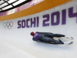 Luger In Winter Olympic Sochi 2014