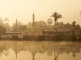 Mae Hong Son Thailand River Fog Temple