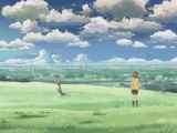 Makoto Shinkai 5 Centimeters Per Second Sky Space Girl