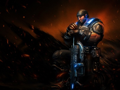 Marcus Michael Fenix Gears Of War