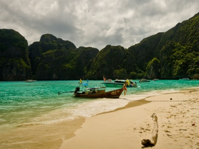 Maya Beach Beautiful Nature Landscapes