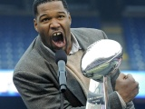Michael Strahan Football Athlete
