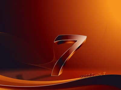 Microsoft Windows 7 - 3D Logo (click to view)