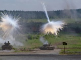 Military Tanks White Phosphorus