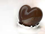 Milk Chocolate Food Sweets Hearts