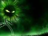 Miscellaneous Digital Art Green Evil Green Flower