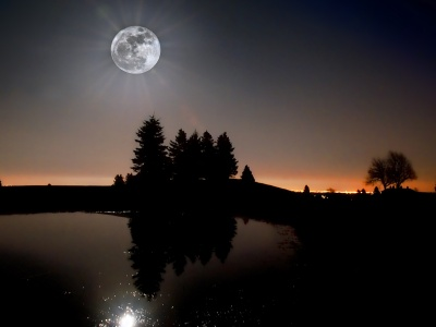 Moon Light In Night (click to view)