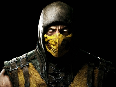 Mortal Kombat X Scorpion Ninja Mask (click to view)